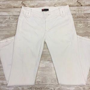 Diesel Sz 29 White Corduroy Straight Leg Jeans